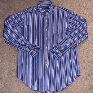 Mens Ralph Lauren Polo button down long sleeve